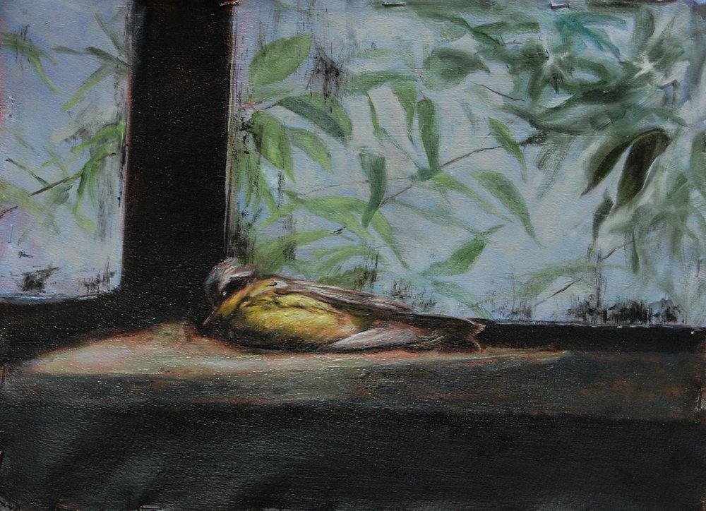 Still life for Chinese Element. Oil on paper 11x15 2010JPG.JPG