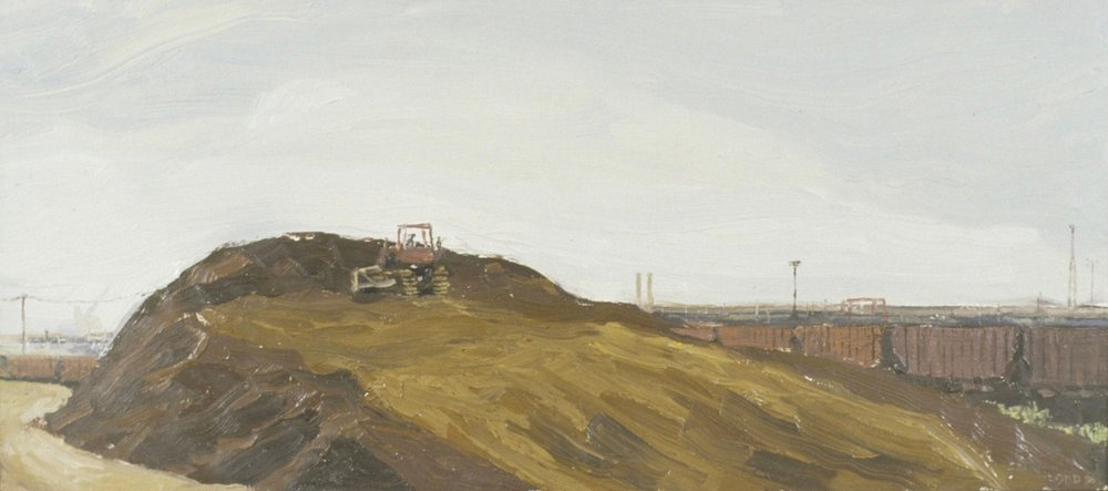 30 Building a Mound of Iron Ore oil on panel 9 x 15 (1).jpg