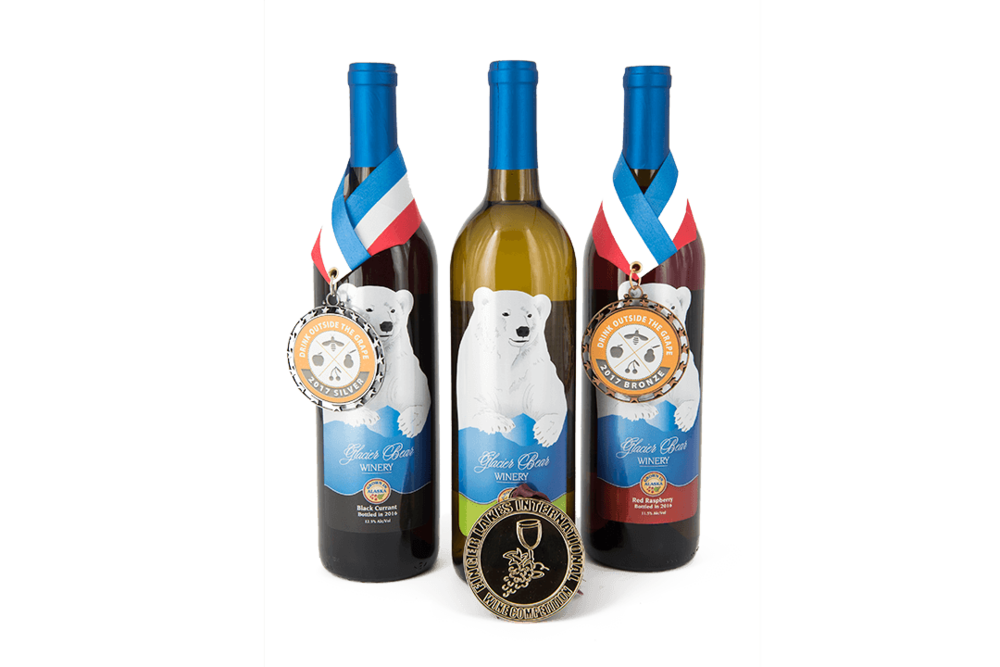 Glacier Bear Award Wines