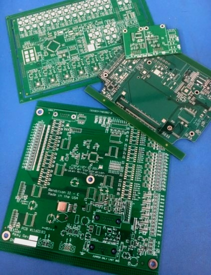 Printed circuit boards of various sizes, shapes and complexity are no problem!