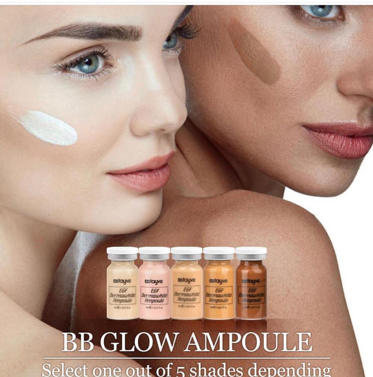 Bb Glow Starter Kit Stayve Dermawhite Regenerative Bb Treatment