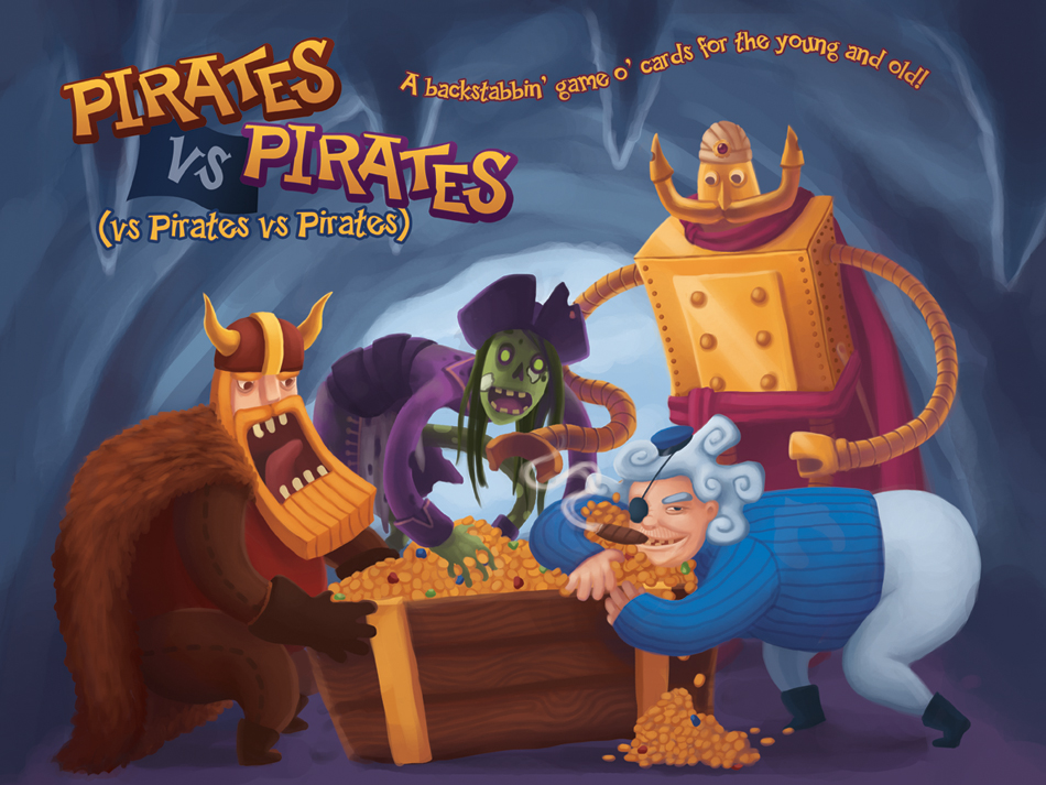 Promo Illustration for Pirates vs Pirates