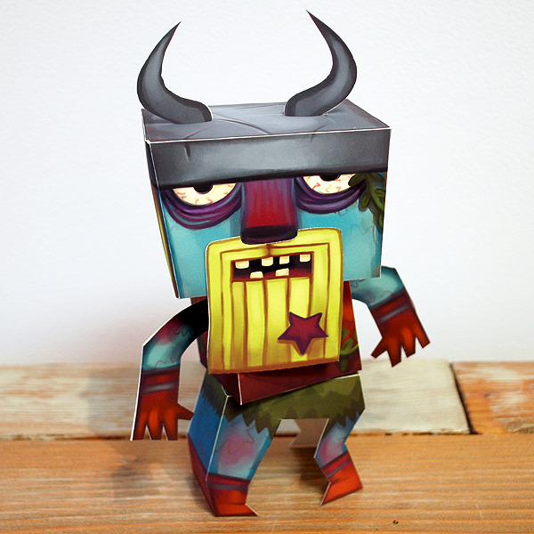 Draugr Paper Toy