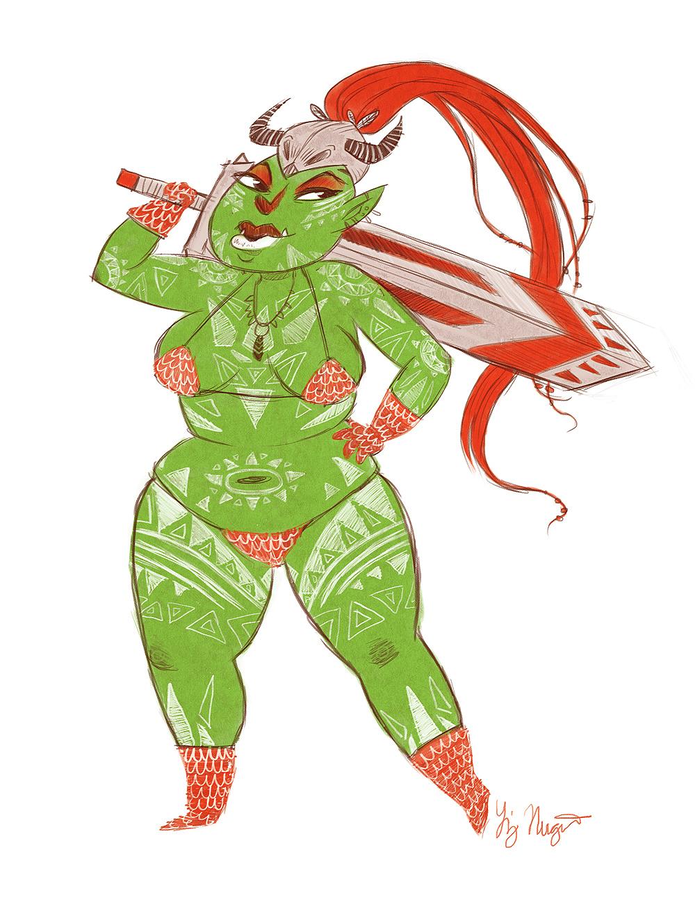 tribal-lady