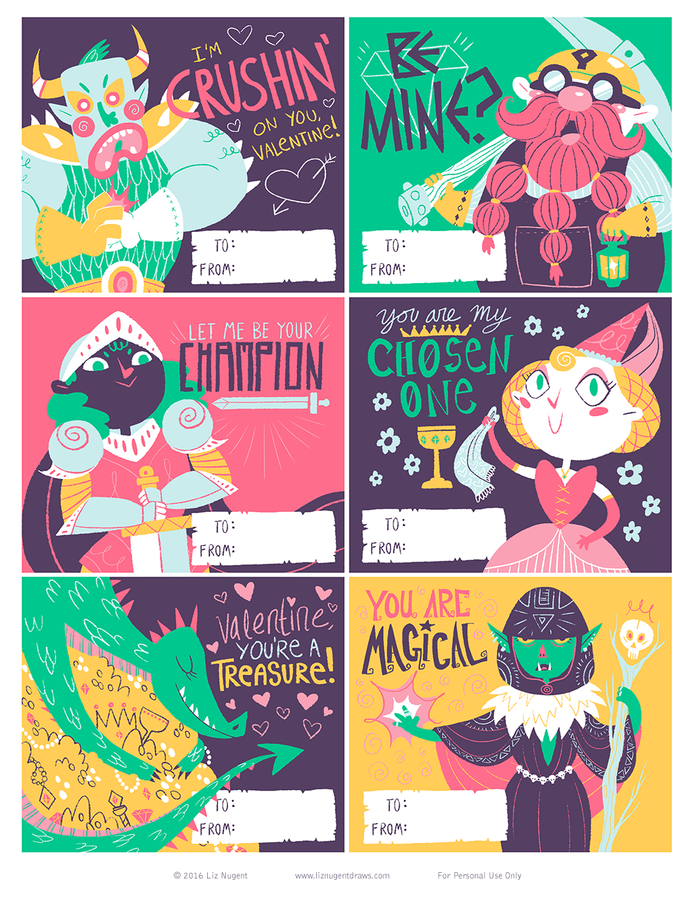 valentines pdf