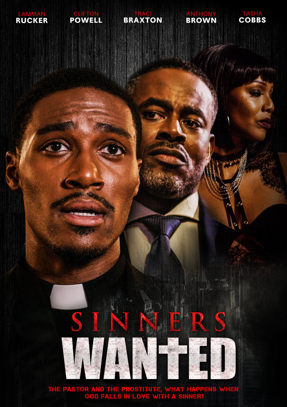 - Sinners Wanted, is a faith based film Produced by Gregory & Kia Freeman of Free Mind TV & Films in association with Megamind Media and Jenk Ink. An unconventional pastor is ridiculed by his hypocritical church congregation after he rescues an unforgiven prostitute.