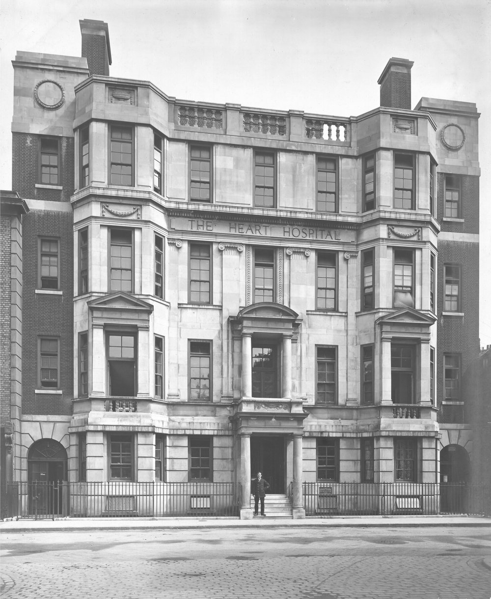 The Heart Hospital in Westmoreland Street in 1917.