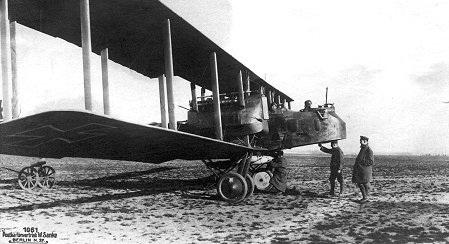 Gotha V Airplane.