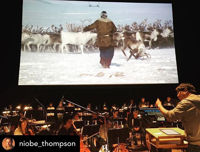 Posted @withrepost • @niobe_thompson Calgary peeps, there's a casual 6:30pm performance of Great Human Odyssey at Arts Commons. Bring a drink in and enjoy!  #calgaryphil #greathumanodyssey #tgif