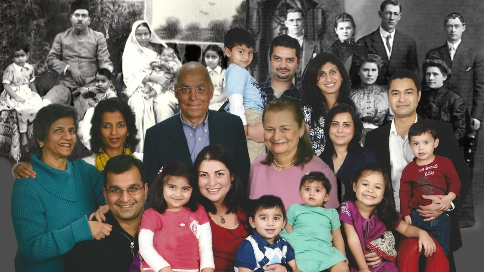 A collage by Haque of her family. / Courtesy of Sabina Haque