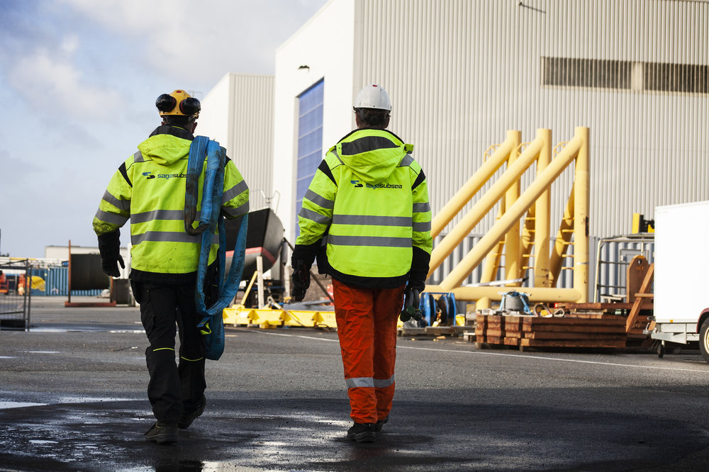 """- """"On all our work sites, we will respect our clients by ensuring a good work environment, have a high level of safety and environmental awareness and do our best to achieve first class results.""""- Einar Tollaksvik"""