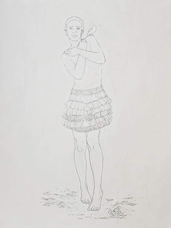 Gorrión con Venus