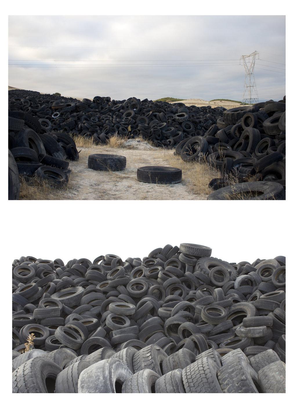 Ecosistema neumático. Fotomontaje. 2015