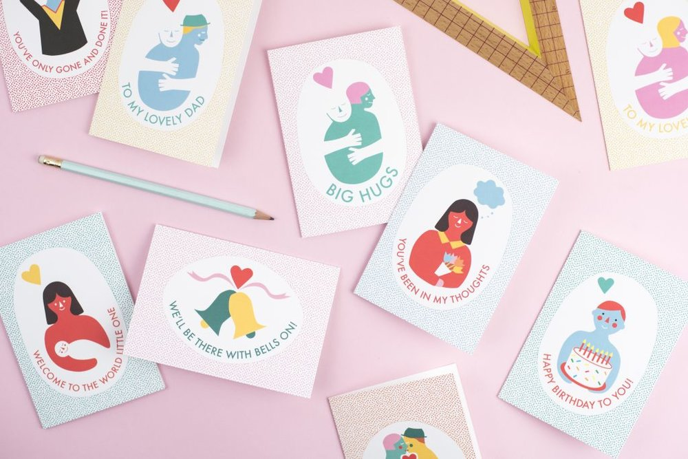 Kate & The Ink Craft Card Range