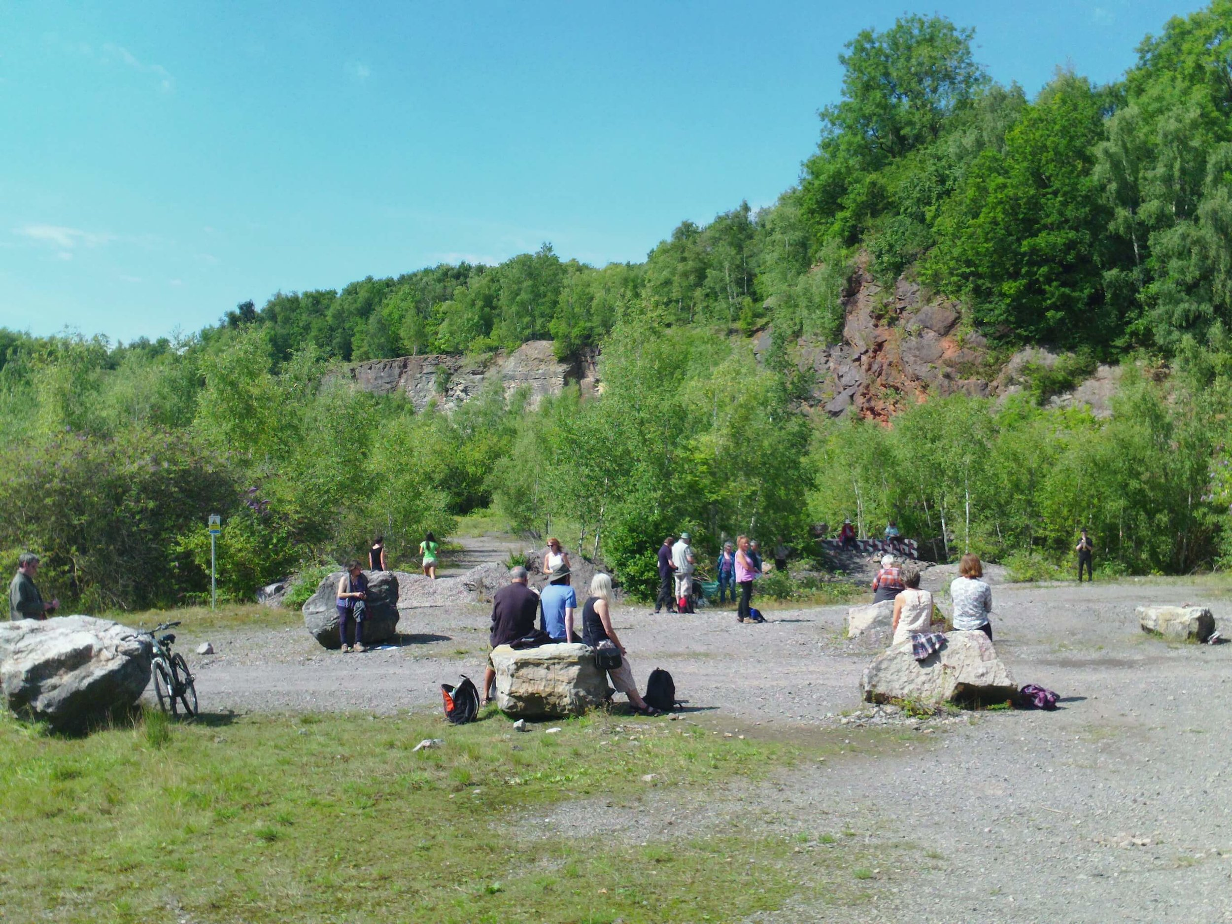 Artmusic's BLAST at Westdown Quarry