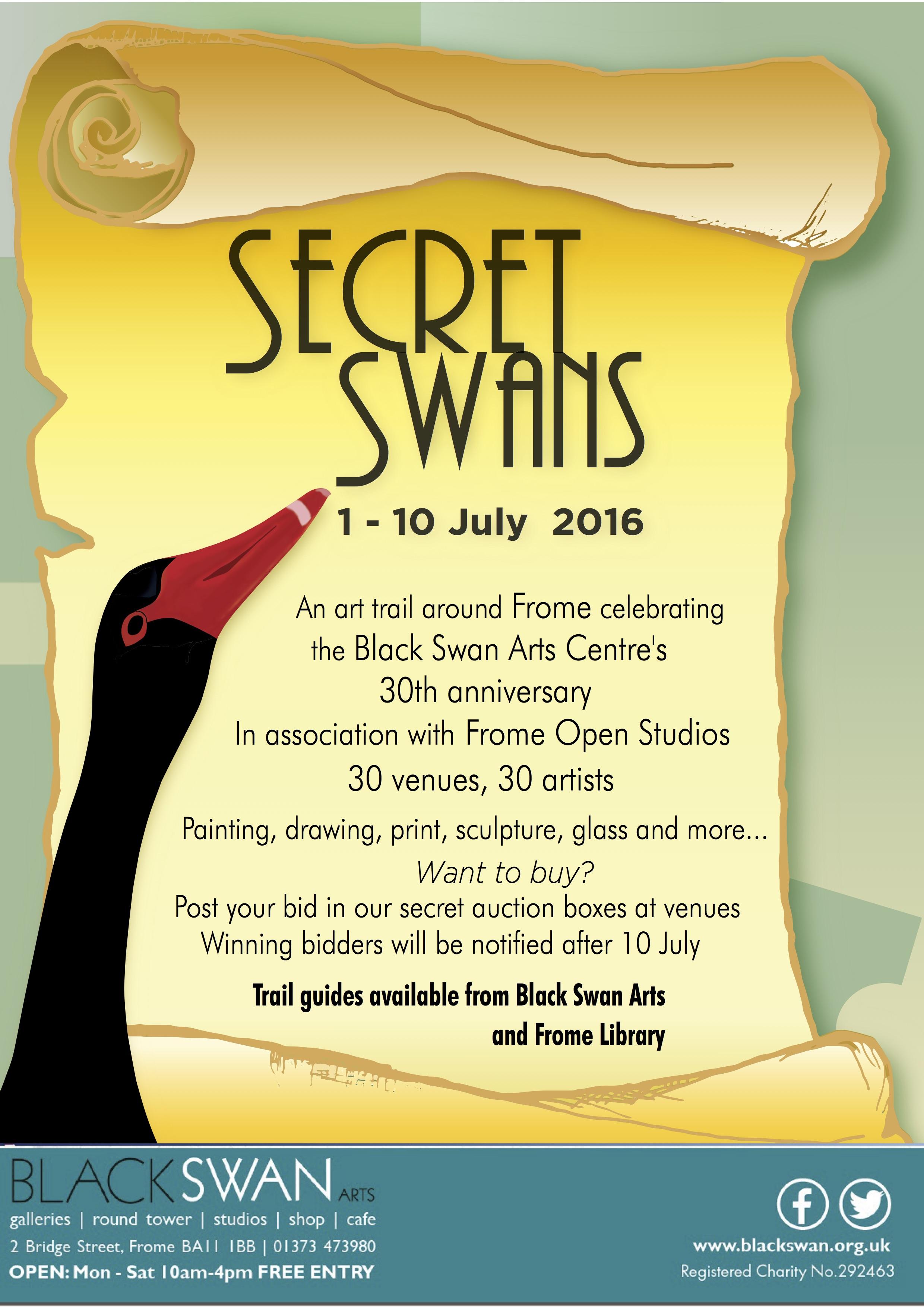 Secret Swans poster