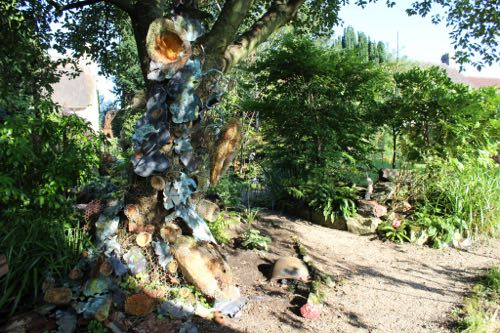 Sculpture in the garden - Somerset Open Studios