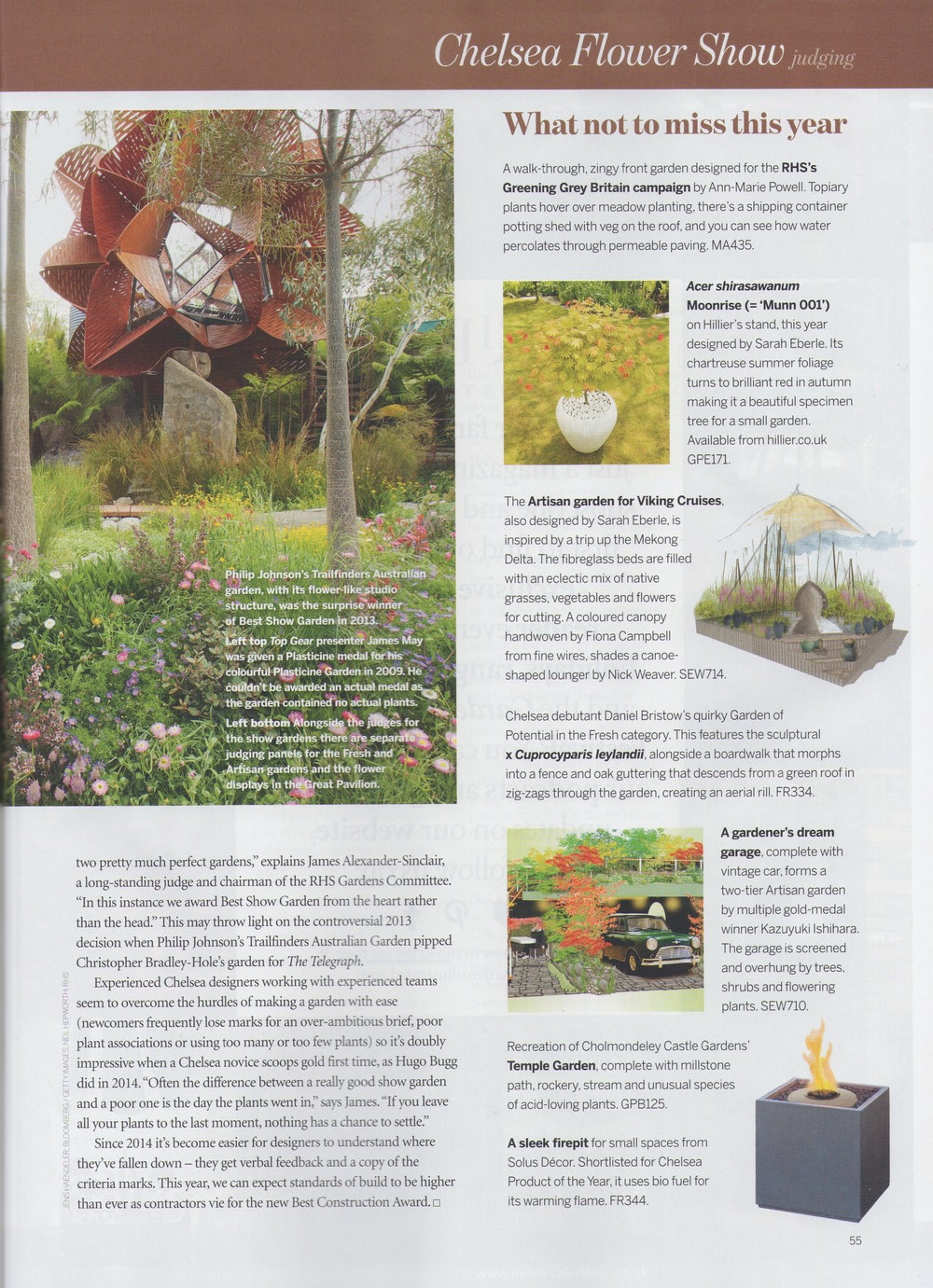 Gardens Illustrated May '16
