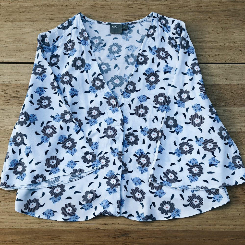 The ASOS 'swing' blouse