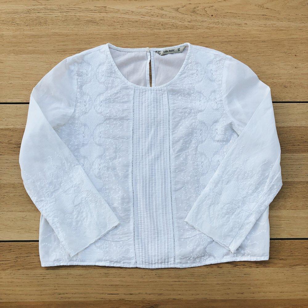 The 'boxy' fit of my Zara blouse