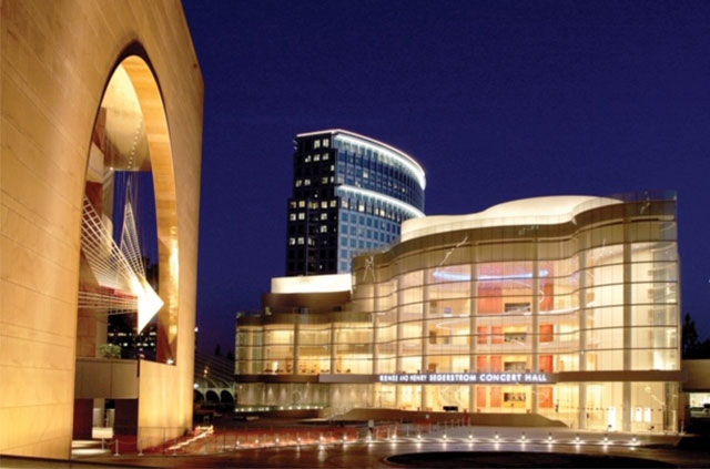ORANGE COUNTY PERFORMING ARTS CENTER-SEGERSTROM HALL -