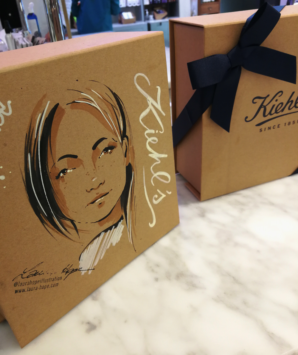 Kiehl's Selfridges - September 2018