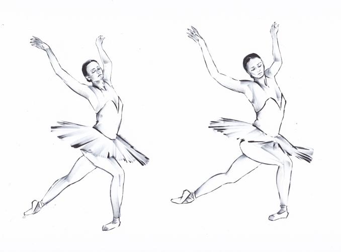 Ballet gif sketches