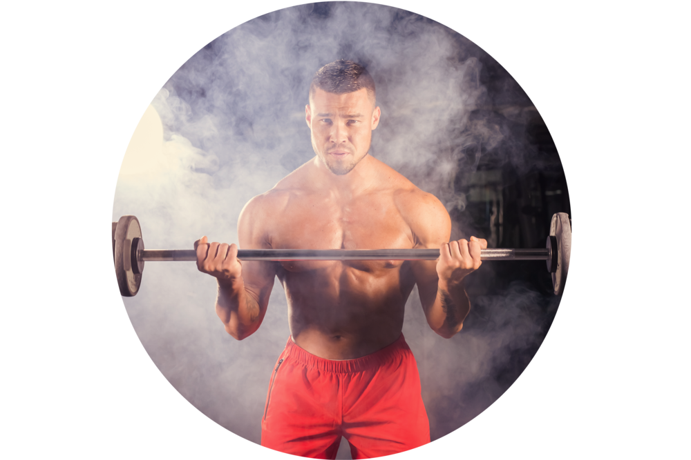 STRENGTH - If you struggle to gain muscle, TRT can drastically increase your muscle gain.
