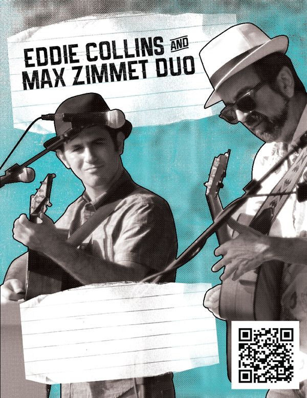 Eddie Collins & Max Zimmet Duo, bluegrass, country, Texas Roots and Americana in Austin