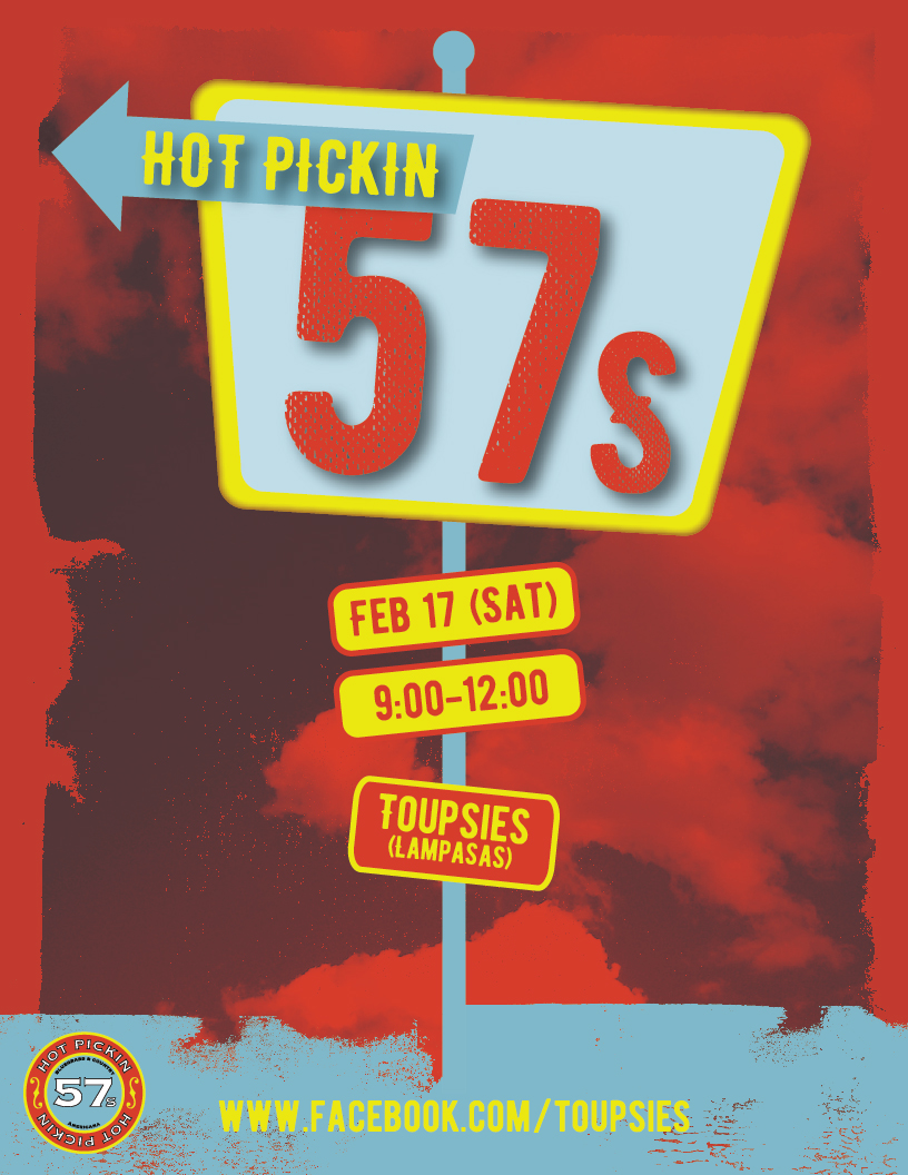 Hot Pickin 57s play Toupsies