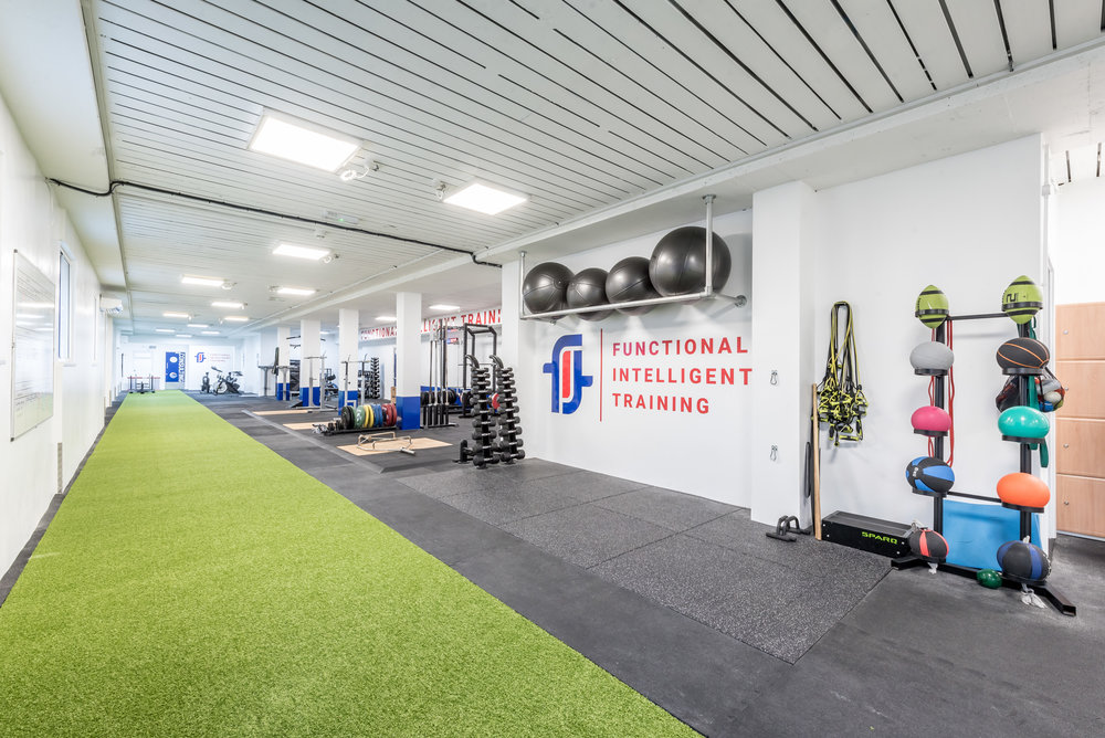 State of the art gym facilities
