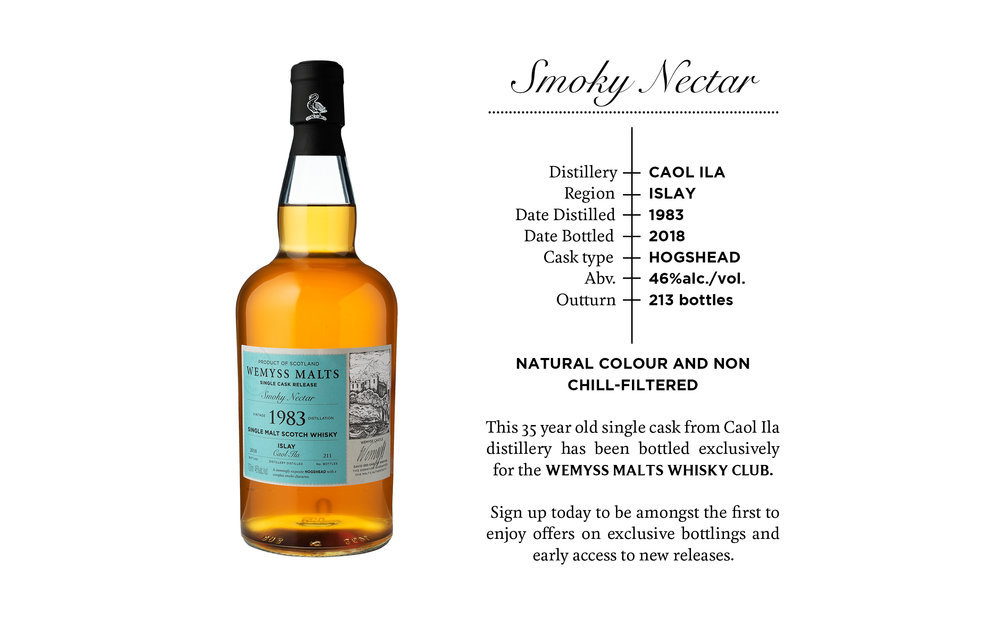 Smoky Nectar Wemyss Malts Whisky Club release.jpg