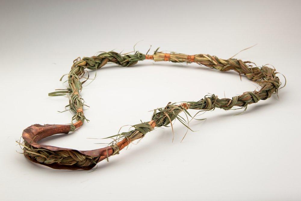 grass and copper
