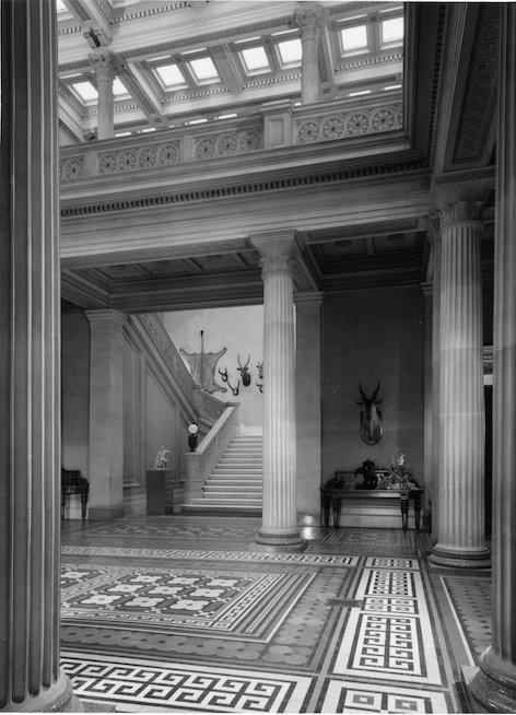The atrium at Whitbourne Hall circa 1975 provided by Heather Colley .jpg
