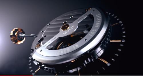 A 30-second YouTube clip hints that MVMT has put an entry-level Miyota movement in their new automatic timepieces.