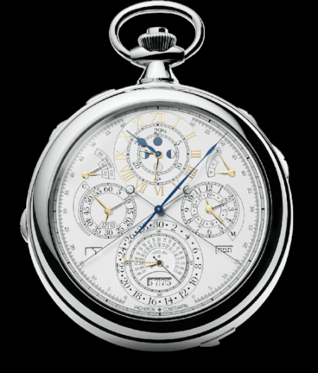 "Vacheron Constantin's 52760, which now claims the title of ""most complicated watch in the world"""