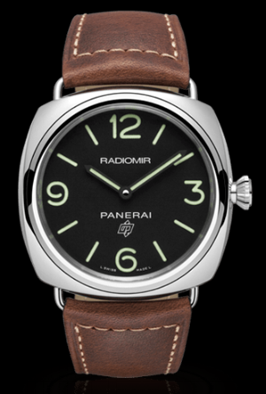 The Panerai Radiomir with 3-day power reserve