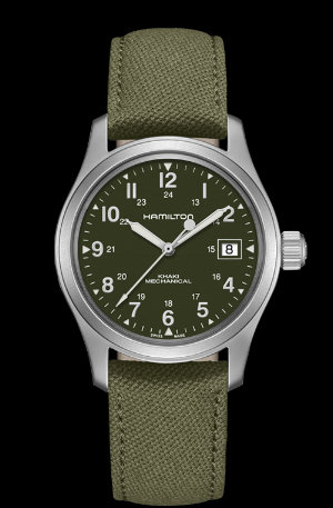 Hamilton Khaki Field Mechanical, $425.