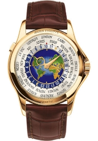 A Patek World Timer