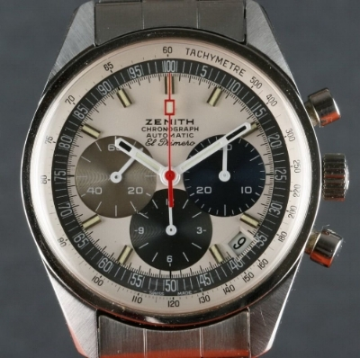 """The Zenith El Primero, the """"first automatic chronograph""""."""