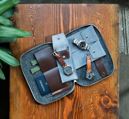 Oak & Oscar Watch Wallet