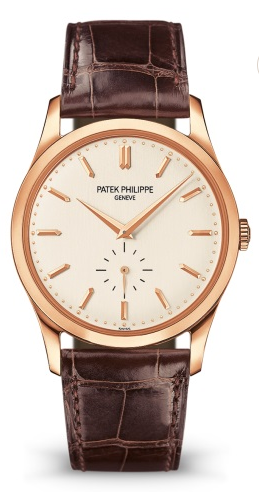 Patek Calatrava in rose gold