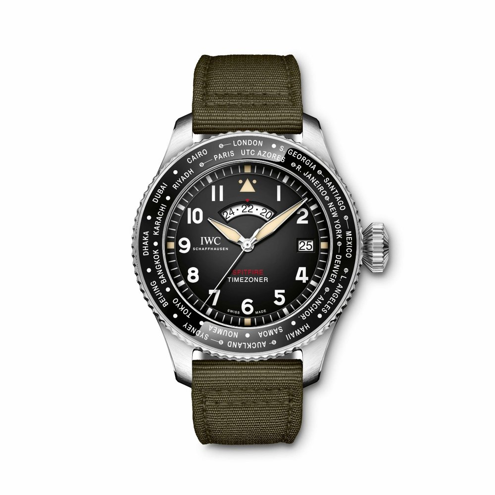 IWC Pilot's Watch Spitfire Edition Timezoner