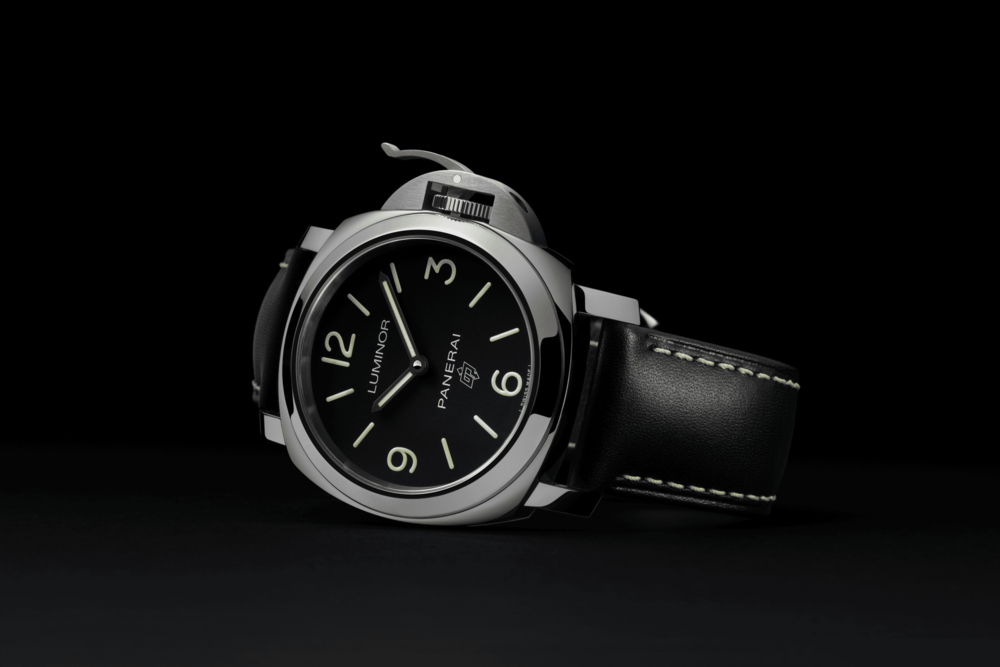 A Panerai Radiomir with 3-day power reserve