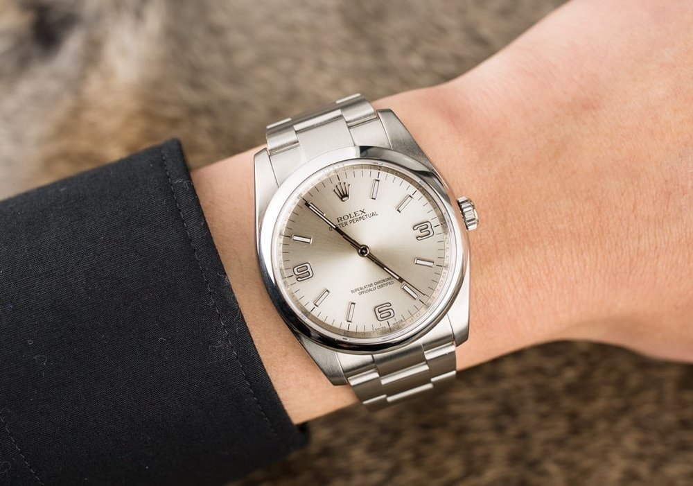 Rolex Oyster Perpetual 36mm in stainless steel