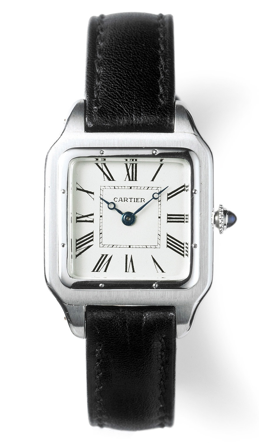A vintage Cartier Santos from the early 1900s.