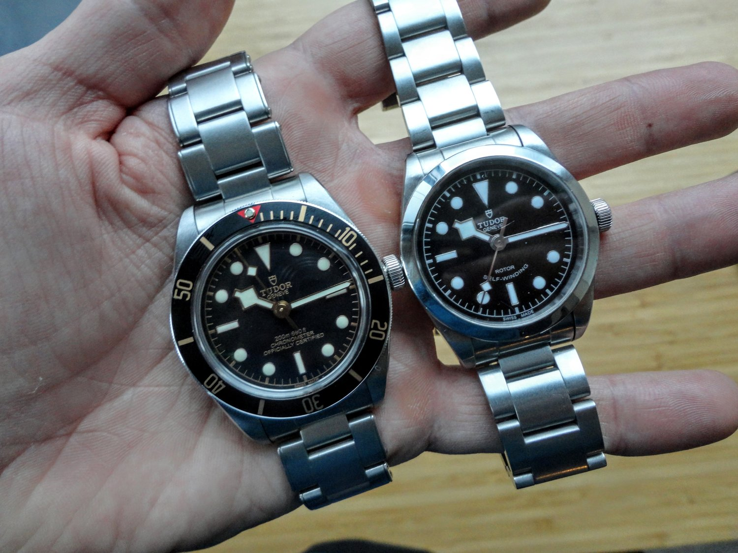 Comparing The Tudor Black Bay 36 And Black Bay 58 Rescapement