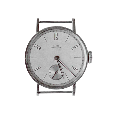 Am I the only one who thinks a modern watch like this from Lange would sell like crazy?