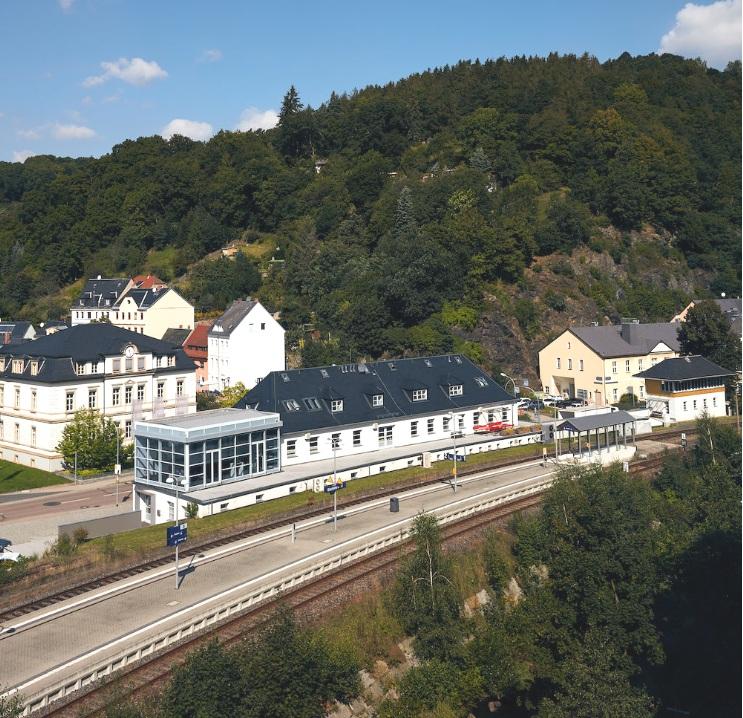 Nomos factory in Glashütte, Germany