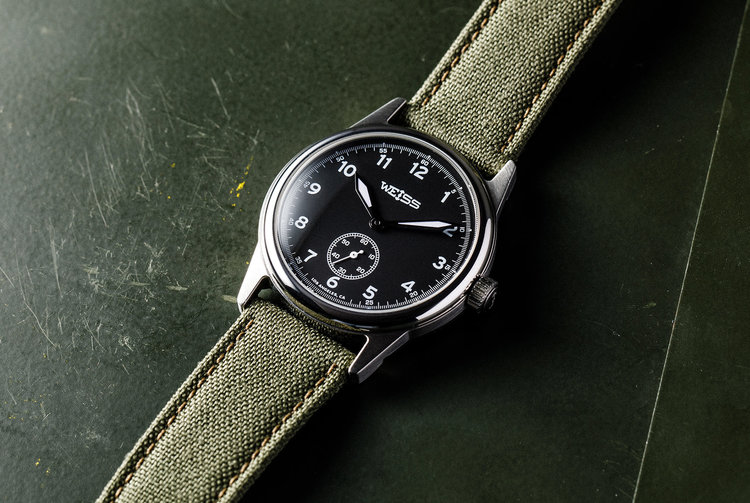The Weiss Standard Issue Field Watch | Weiss Watch Company
